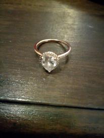 Pandora rose gold ring