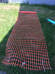 4ft x 100ft long  snow fence