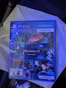 PS4 VR with motion controllers, camera and three games. Cheapest