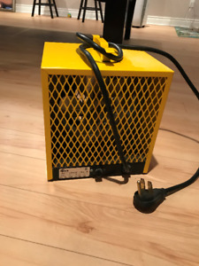 Chaufferette portative Stelpro -  Stelpro portable heater