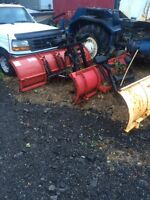 Used plows, mounts and harnesses