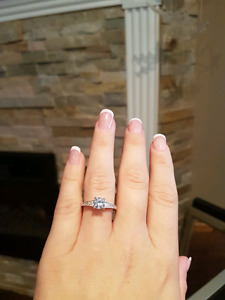 Sterling silver Engagement/promise ring