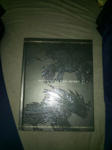 MONSTER HUNTER WORLD Collector's Edition Art Book never opened.