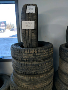 Set of 4 205/70/16 goodyear eagle tires