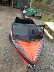 13' Alu Boat and Trailer