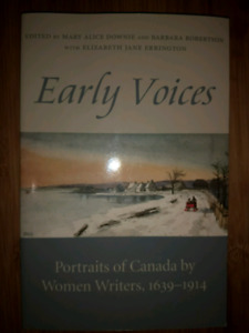 Early Voices: Portraits of Canada by Women Writers