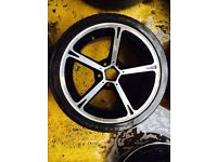 "18"" GENUINE AC SCHINTZERS BMW 1 SERIES 3 SERIES SET OF 4"