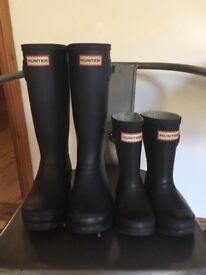 Hunter Wellington boots for sale