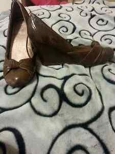 Brown shoes for sale