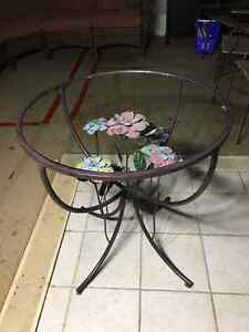 Pier1Imports glass table top 28inch diameter – lowered price! West Island Greater Montréal image 5