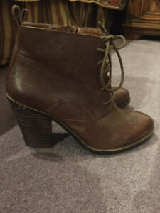 Brand New Size 6 Lucky Brand Bootie - Shoes