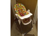 Mothercare Arc High Chair very good condition