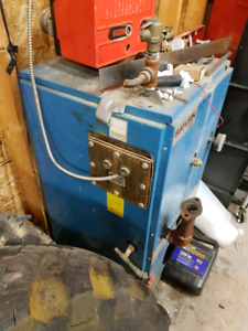 Hot water furnace. Want gone.