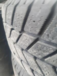 4 winter tires and rims tires  4 pneus