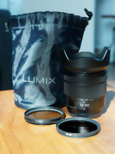 Panasonic LUMIX G VARIO 12-60mm f/3.5–5.6