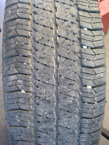 P255/75R17 GOODYEAR WRANGLER SR-A have four