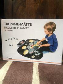 Childs drum kit play mat £6