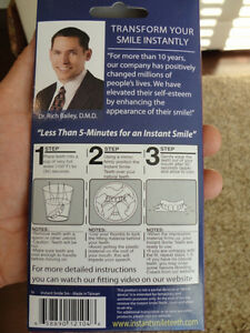 Instant Smiles Transform Your Teeth Instantly Fits On Your Teeth Kitchener / Waterloo Kitchener Area image 3