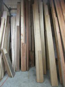 White Oak, Cherry, and Walnut Lumber