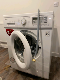 LG Direct Drive F4MT08WE 8 kg 1400 Spin Washing Machine - White