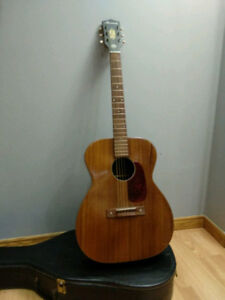 X-mas Blues? Buy a Vintage Harmony H-165 Solid Mahogany  Guitar