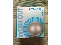 Work out -Natural birth and fitness ball