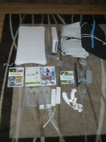 Original Nintendo Wii WIth lot of extra Wii fit Dance MAtt & Mor