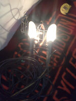 2 Rare Auto shop lites , both work great don`t see these around