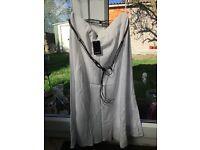 White skirt size 16