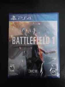 Battlefield 1 sealed $60 firm. For ps4