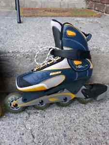 Roller blades Bauer for boys, brand new.  Size 8 US West Island Greater Montréal image 2