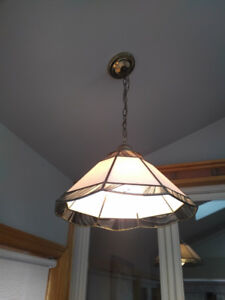 Two Ceiling Fixtures