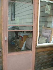 screen door , porte patio