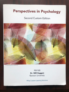 PSY105 - Perspectives in Psychology - Ryerson Textbook