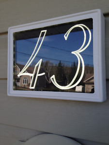 Led house number