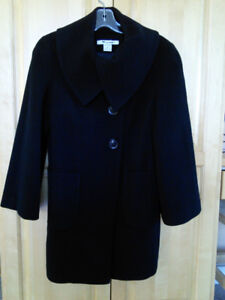 Nygard winter coat size 6 petite