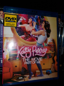 Katy Perry: The Movie Part of Me - Blu-ray DVD Live Show Music