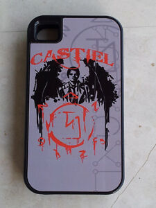 SUPERNATURAL CASTIEL IPHONE 4 COVER - BLACK