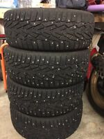 Nokian Winter Tires 225/55R17 FIT TOYOTA CAMRY