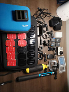 gopro hero 4 silver + Tons of Accessories