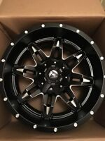 "20"" 8x180 New Fuel lethal rims"