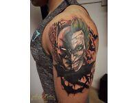 Professional tattoo