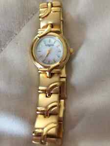 Gold Wittnauer ladies braclet watch....make an offer