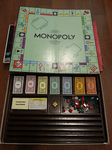 Monopoly Canadian edition..make an offer and take it.