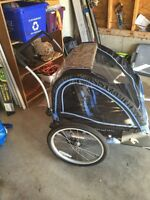 Schwinn double stroller/bike trailer