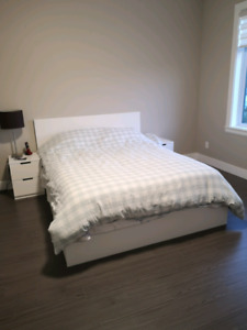 Queen size bedroom set (IKEA)