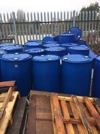 200 litre plastic drum