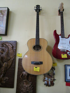 Epiphone Acoustic Electric Bass For Sale At Nearly New Port Hope