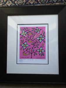 """Norval Morrisseau """" Tree of Life """" Limited Edition Print"""