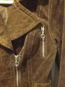 Brown suede jacket Kawartha Lakes Peterborough Area image 2